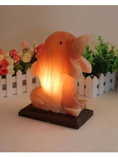 Salt crystal lamps are made from salt crystal rocks formed millions of years ago in the foothills of the Himalayas. This dolphin shaped Himalayan salt lamp diffuses a subtle, calming glow, creating a relaxing and peaceful atmosphere to any room in your home. It also functions as an air purifier by emitting negative ions that are useful to cleanse and refresh the air. Crafted by hand, size, weight and shape of this lamp may vary slightly as they are natural salt stone.