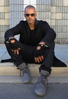 Shemar Moore from his website. Shemarmoore.com