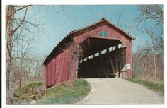 Cornstalk Creek Covered Bridge Putnam County Indiana