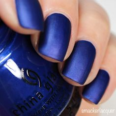 China Glaze Rebel Collection 2016 Combat Blue-Ts | smackerlacquer