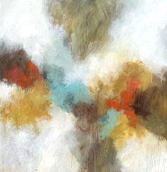 """Melissa Payne Baker, """"Splendor,"""" mixed media on canvas, 40 x 40"""