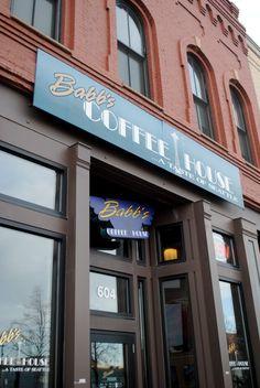 Babb's Coffee House in Downtown #Fargo #NorthDakota!