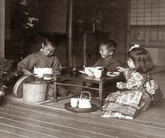 I just love this for some reason... early 1900s Japanese tea