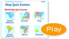 Map Quiz Games - World geography games Geography Map Quiz, World Geography Games, World Map Quiz, Map Games, Summer Courses, North Europe, 5th Class, Africa Map, School Resources