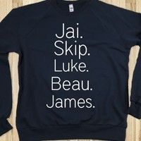 black sweater - Janoskians - Skreened T-shirts, Organic Shirts, Hoodies, Kids Tees, Baby One-Pieces and Tote Bags