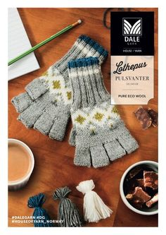 Something To Do, Gloves, Pure Products, Wool, Knitting, June, Threading, Tricot, Breien