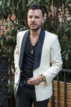 Tux jacket (shawl line) as a suit separate.