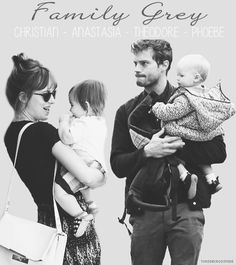 christian grey children theodore and phoebe - Google Search