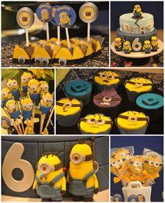 Despicable Me party theme idea, who doesn't love those little Minions? Minion Theme, Minion Birthday, Boy Birthday, Birthday Ideas, Party Box, Party Time, Despicable Me Party, Minion Party, Fiestas Party