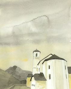 Kirche Simplon Dorf Seehorn Kirchen, Painting, Art, Pictures, Art Background, Painting Art, Kunst, Paintings, Performing Arts