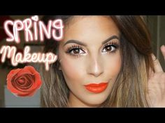 Drugstore Spring Makeup Tutorial - YouTube Makeup Tutorials Youtube, Makeup For Blondes, Spring Makeup, Summer Looks, How To Look Better, Hair Beauty, People, Beautiful, Natural