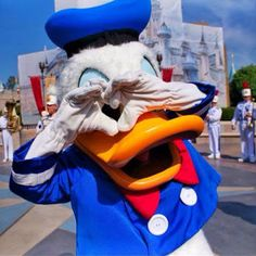 Happy 81st birthday Donald! Pic by OhanaPhoto #Disneyland http://buff.ly/1dvsw7k
