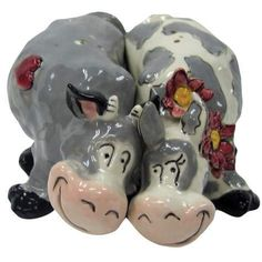 In the Moood Cow Salt & Pepper Shakers