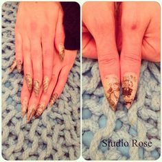 LCN sanomalehtikynnet - newspaper nails Newspaper Nails, Gel Nails, Studio, Rose, Newsprint Nails, Gel Nail, Pink, Roses, Study