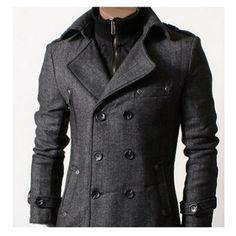 mens coat DOUBLJU