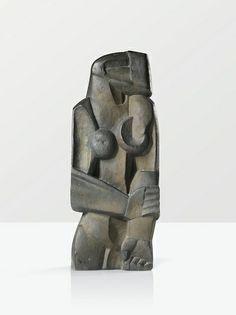 Ossip Zadkine (1890-1967) - Femme debout, 1922 •●