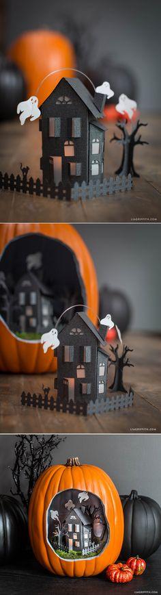#papercraft #hauntedmansion #halloween: #papercraft #hauntedmansion #halloween