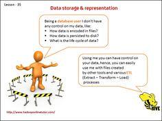 Dara storage & representation    http://www.hadooponlinetutor.com/