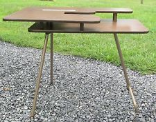 Vintage Model F1 Folding Sewing Machine Table Free Arm Elna