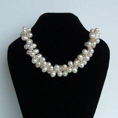 Clutch The Pearls: Tara Andrews Jewelry My Birthstone, Wedding Blog, Birthstones, Eye Candy, Pearl Necklace, Jewelry Making, Jewels, Luxury, How To Make