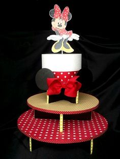 Minnie Mouse Cupcake Stand (3 Tier)