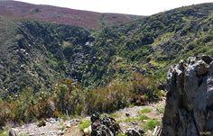 Cascada de Los Ángeles desde el Mirador del Chorro. Sierra de Gata