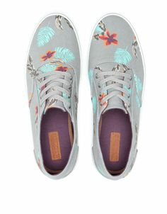 Zapatos Berska Bamba print floral