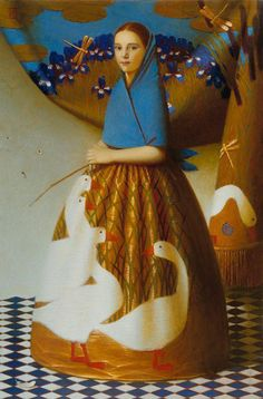 Contemporary Russian artist Andrey Remnev.