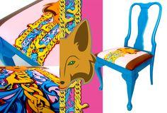 Foxy Chicken Chair Elderado Park Bespoke Furniture Designer