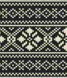 Fair Isle Norwegian patterns
