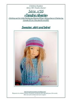1fbaa8c4341 English and French INSTANT DOWNLOAD PDF knitting Pattern 13