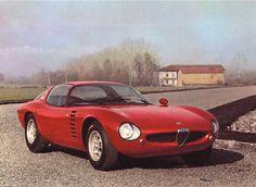 1964 Alfa Romeo Canguro (Bertone design by Giuggiaro): the most beautiful and perfect car ever made!