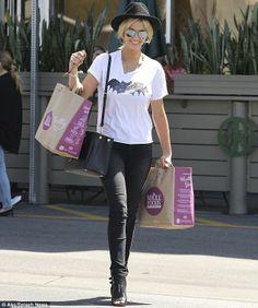 Delta Goodrem wears Batman T-shirt as she zooms around LA Good Rum, Batman T Shirt, Zoe Karssen, Celebs, Celebrities, Style Me, Celebrity Style, Singer, Chic