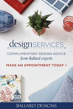 Our Design Services experts can help you with every step of the design process, from space planning and color selection to picking the perfect fabrics and order placement. Consultants are available by email or phone or in person at one of our retail stores. Now also offering virtual in-home consultations! Make your appointment today. #DesignAdvice #InteriorDesign #DesignServices #BallardDesigns Interior Decorating Tips, Interior Design, Retail Stores, Design Services, Ballard Designs, Design Process, Service Design, Free Design, Living Room Decor