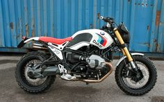 BMW NineT Paris-Dakar by Luis Moto