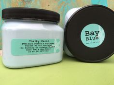 Bay Blue Chalky Paint 16 oz.