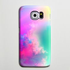 Pastel Pink Turquoise Abstract Sky Galaxy s6 Edge Plus Case Galaxy s6 s5 Case Samsung Galaxy Note 5 4 3 Phone Case s6-082