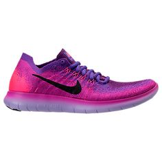 Women's Nike Free RN Flyknit 2017 Running Shoes - 880844 880844-600| Finish Line