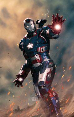 Iron Patriot by ZurdoM.deviantart.com on @deviantART