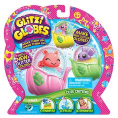 "Glitzi Globes 3 Pack - Cute Critters - Moose Toys - Toys ""R"" Us"
