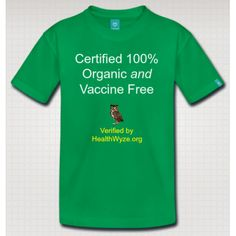Toddler's Vaccine Free T-Shirt ... https://healthwyze.org/store/toddler-vaccine-free-t-shirt?tracking=54cae13a6df4f
