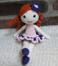 PATTERN Little Ballerina Amigurumi Crochet von CrochetCuteDolls