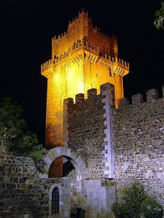 Torre de menagem do castelo de Beja, Portugal