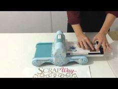 TUTORIAL Scrapway: Utilizando Facas de Corte na Big Shot - YouTube