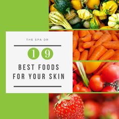 The foods you eat play a tremendous role in the health of your skin. Your skin is your magic mirror giving you great clues about your overall health.  Here are some of the best foods for skin, as well as some of the worst, to help you on your path to glowing, more youthful-looking skin, naturally. https://video.buffer.com/v/59bcd25721ea6c9f10c1dc68