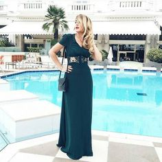 #Cannes2016.  Such a glamorous look by #fblogger @pinketcetera in our KELLY maxi dress in green from @asos_fr <3 Simply loving the gorgeous vibes! #occasionwear #cannes #ootd #cannesfilmfestival #exquisite