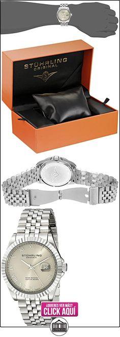 Stührling Reloj 599G.01 Plata  ✿ Relojes para hombre - (Gama media/alta) ✿ ▬► Ver oferta: http://comprar.io/goto/B00D9R01RS