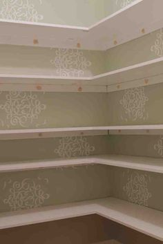 Crazy Tips: Floating Shelf Placement Sinks floating shelves books easy diy.Floating Shelf Kitchen Modern floating shelves around tv woods. Shelves, Pantry Shelving, Floating Shelves Bedroom, Desk Shelves, Floating Shelves Living Room, Bedroom Layouts, Wooden Pantry