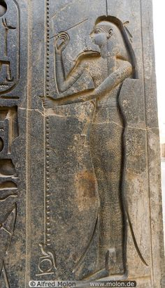 Isis goddess in Luxor temple - Isis is one of the earliest and most important goddesses in ancient Egypt. She was regarded as the feminine counterpart to Osiris, a role she probably occupied before the dawn of dynastic Egypt.
