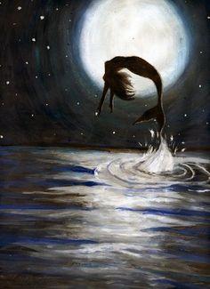 "Oh, my inspiring ""honey""  moon...  I belong to you, you belong to me!"